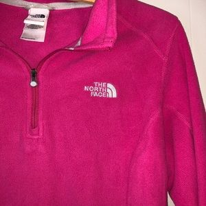 Pink NorthFace Pullover